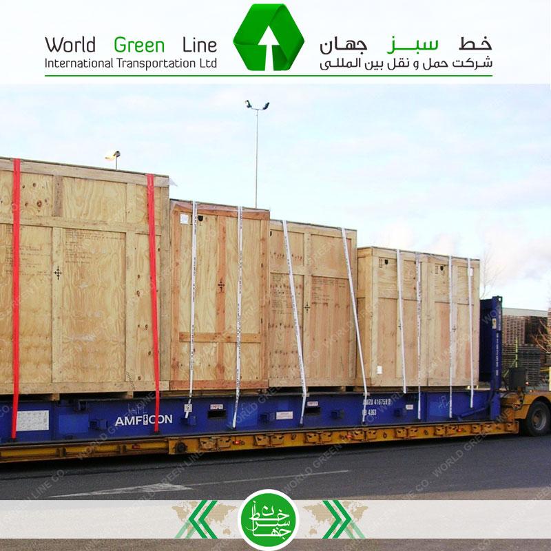 حمل بار از بندرعباس به آذربایجان - حمل زمینی به باکو